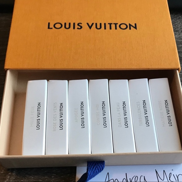 654dae974 Other | Louis Vuitton Perfume Samples | Poshmark